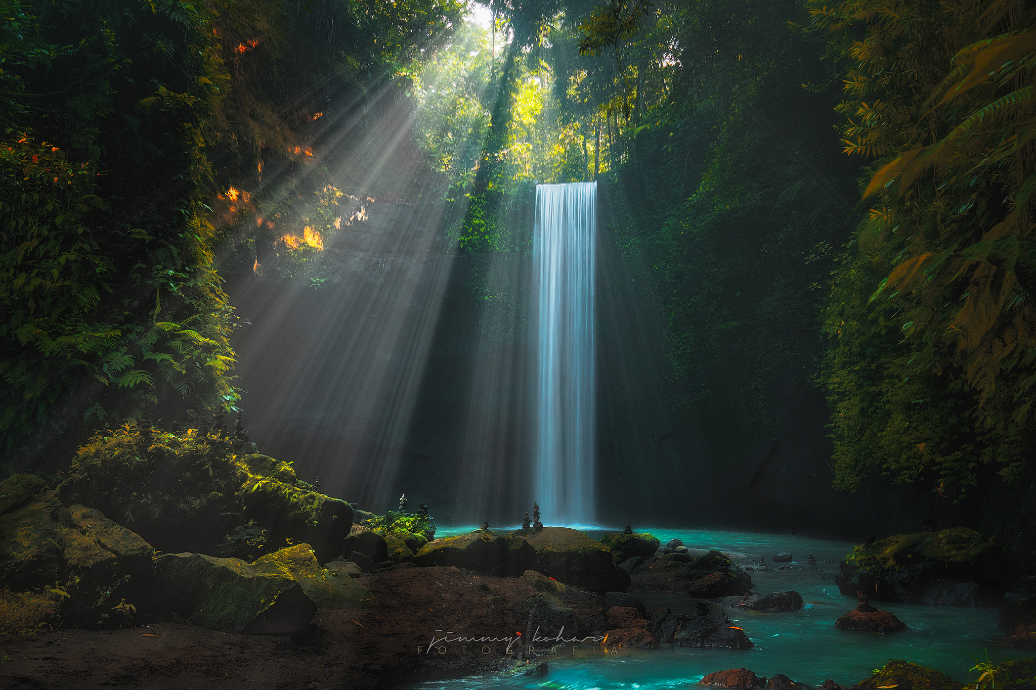Tibumana Waterfall, Indonesia