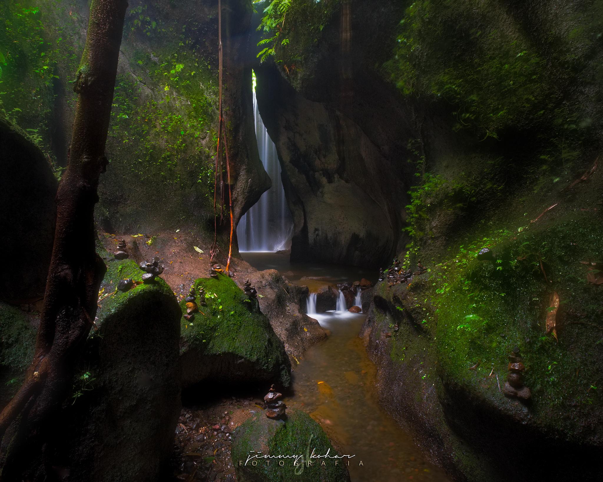 Tukad Cepung Waterfall, Indonesia