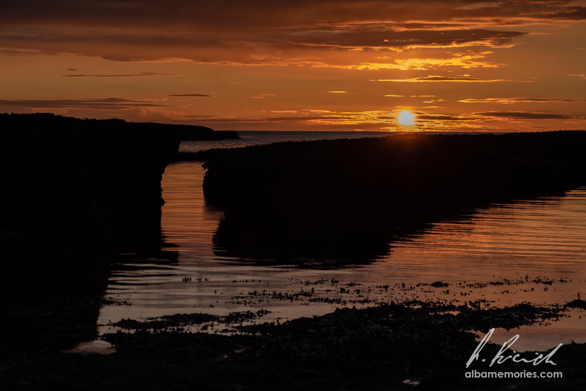 Abroath Clifs - beach, United Kingdom