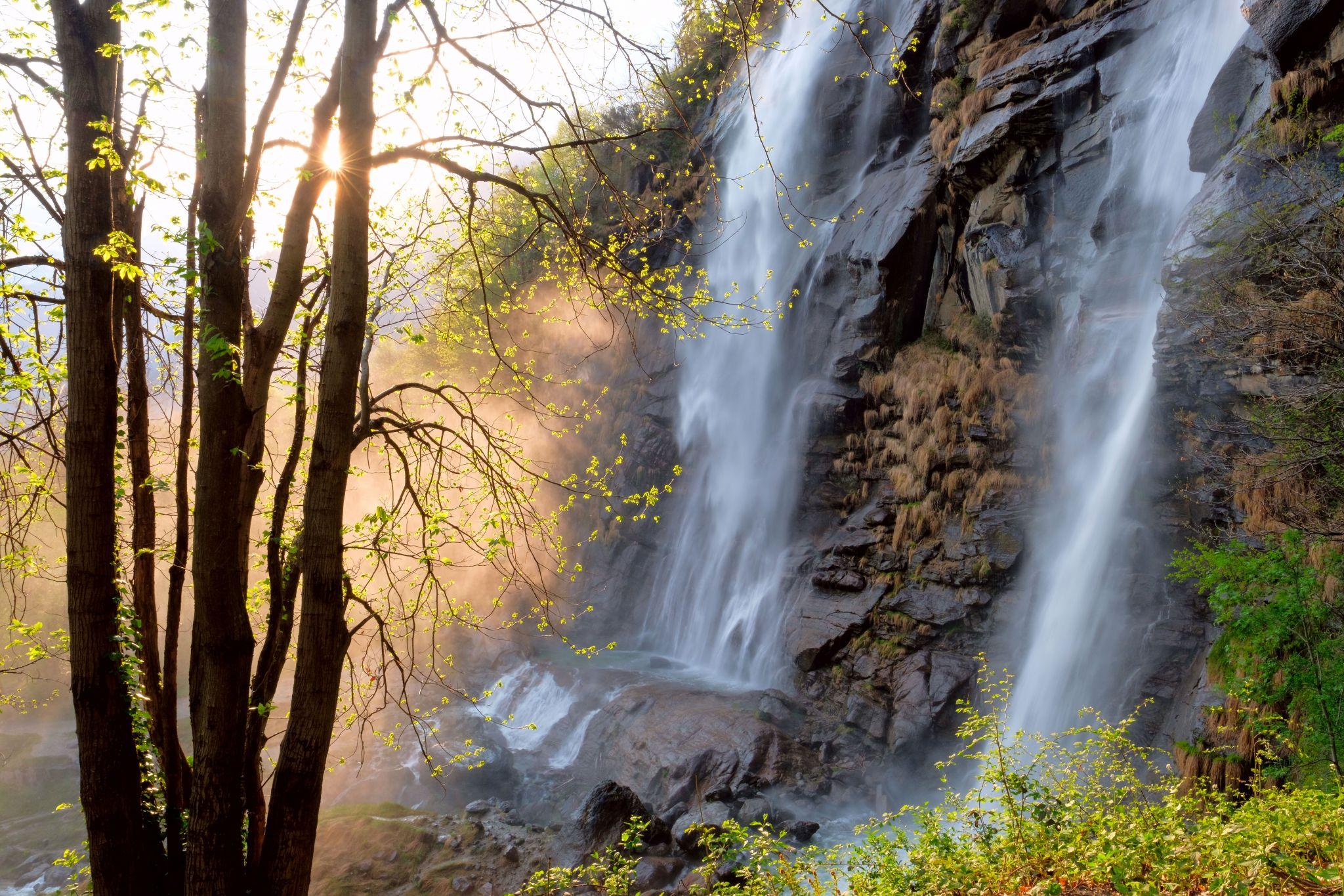 Acqua Fraggia Waterfalls, Italy