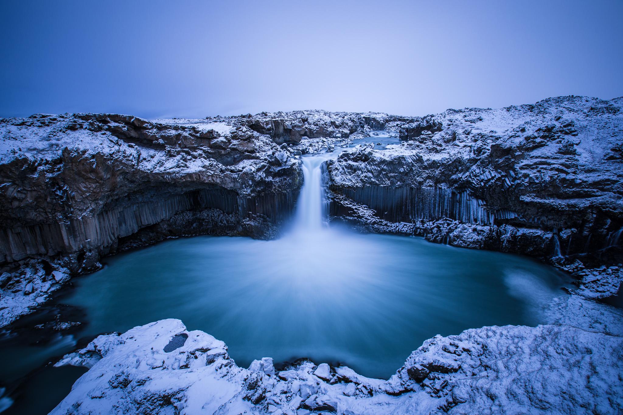 Aldeyjarfoss, Iceland, Iceland