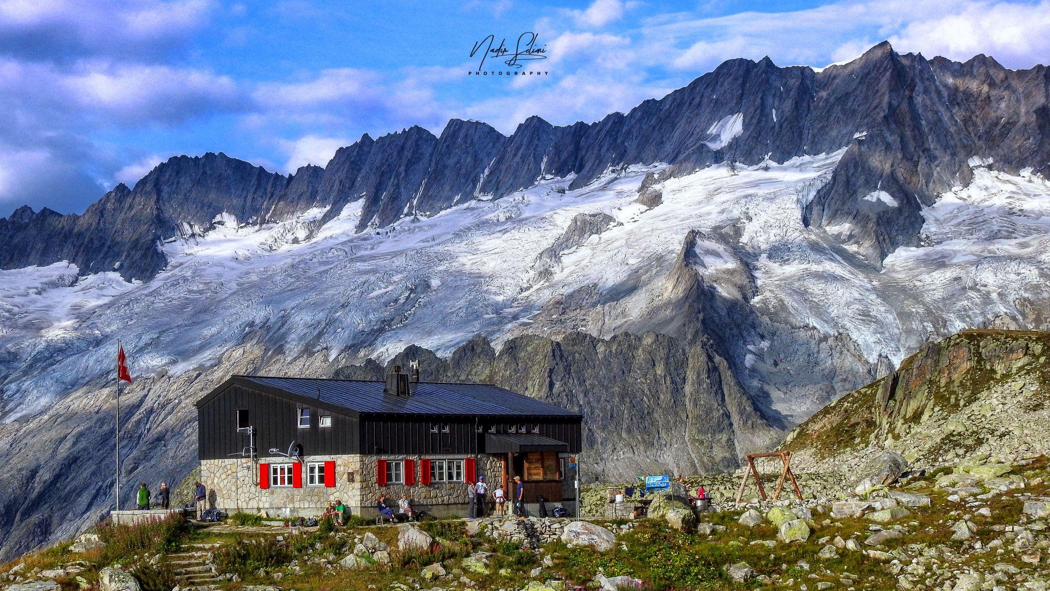 Bergseehütte, Switzerland