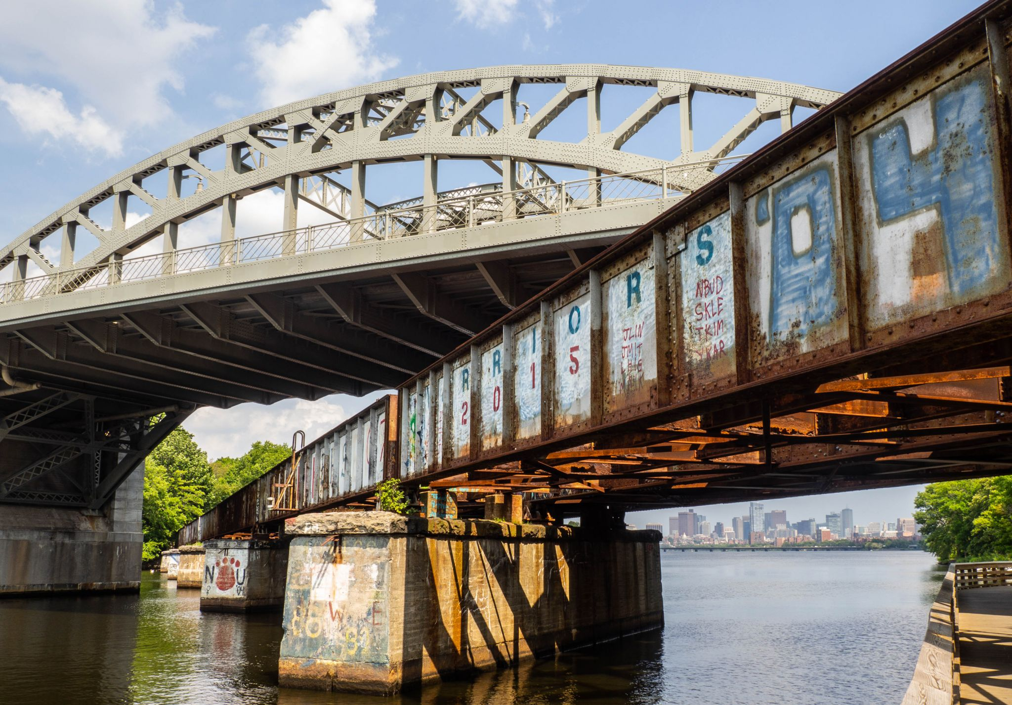 Boston University Bridge, USA