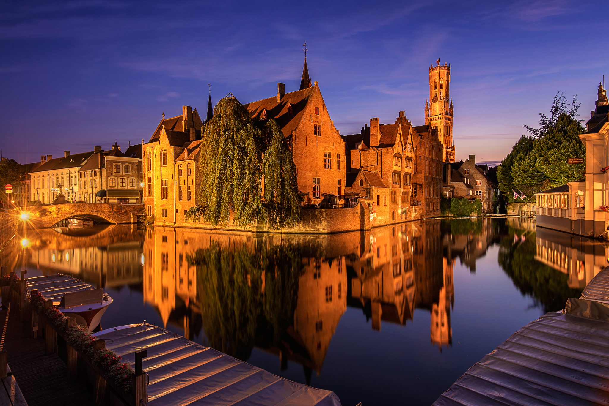 Bruges Canal View, Belgium