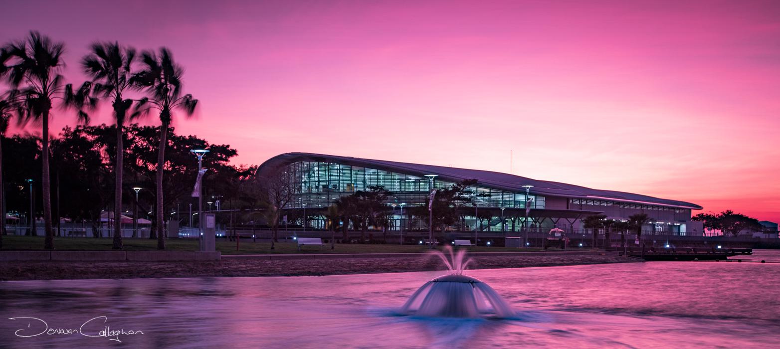 Darwin Convention Centre sunrise, Australia