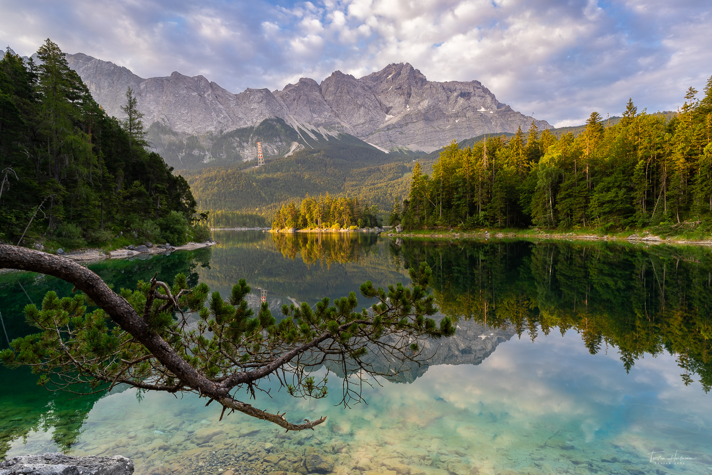 Eibsee, Bayern, Germany