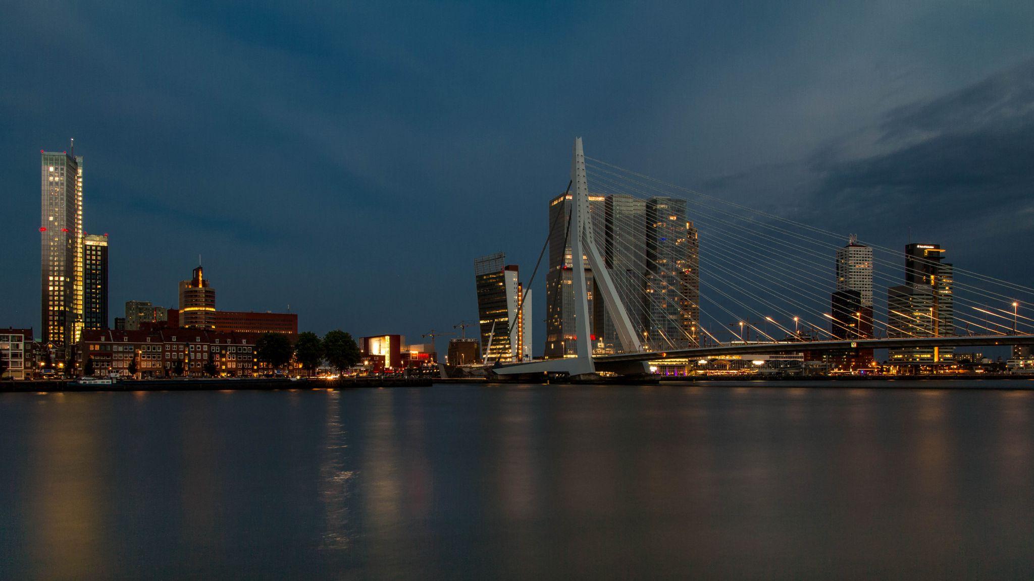 Erasmusbridge, Netherlands
