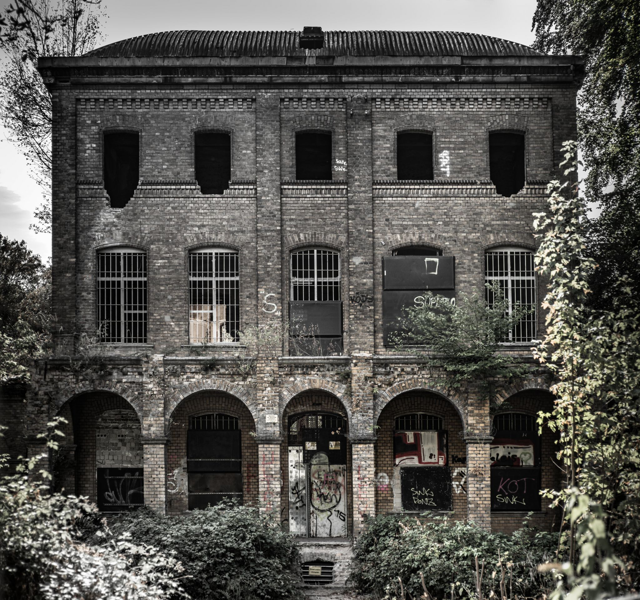 Lost place N Cologne, Germany