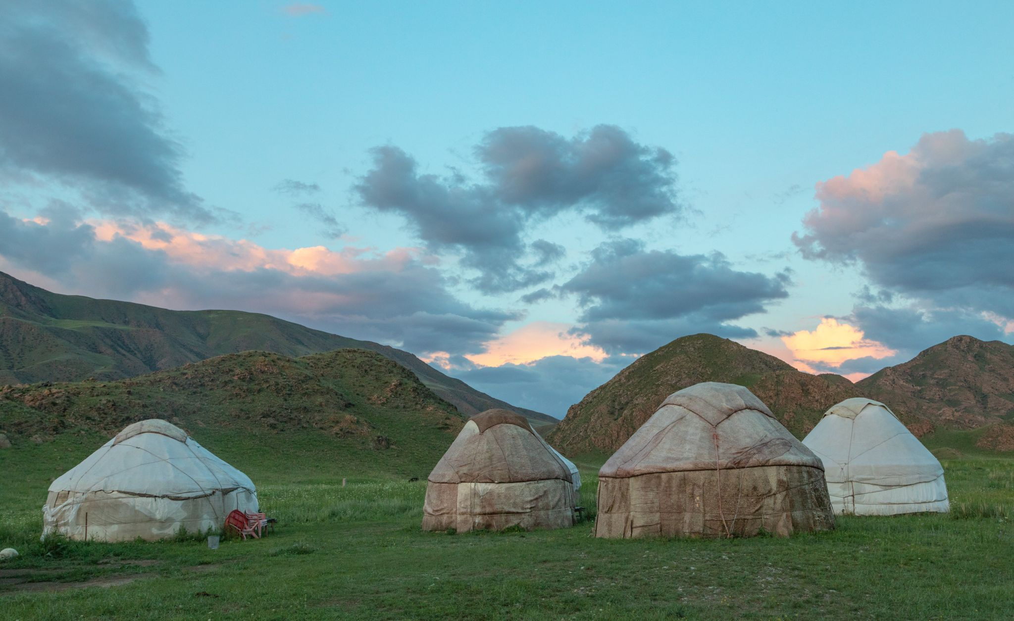 Jurtencamp Tuura Suu, Kyrgyz Republic