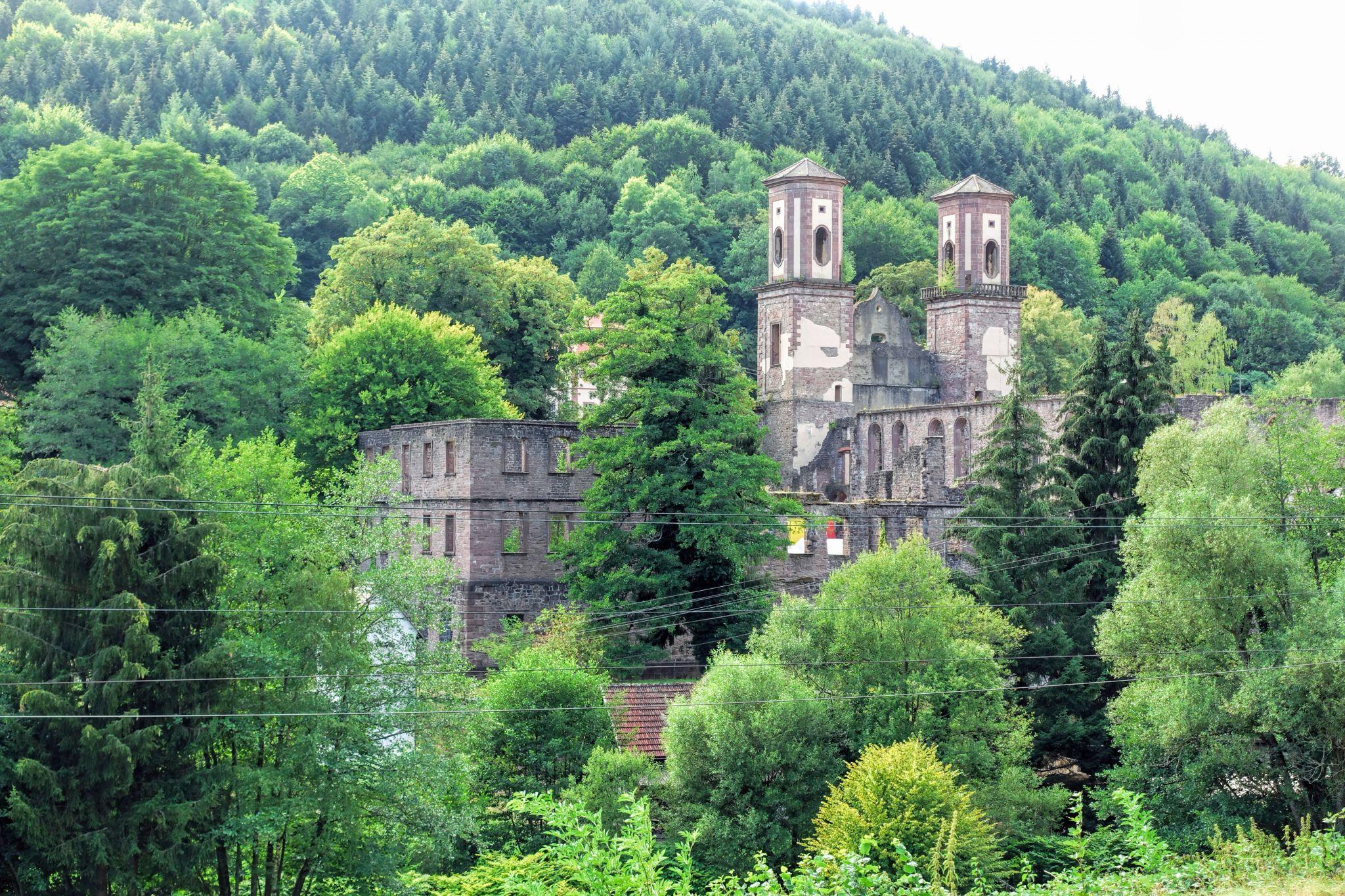 Klosterruine Frauenalb, Germany