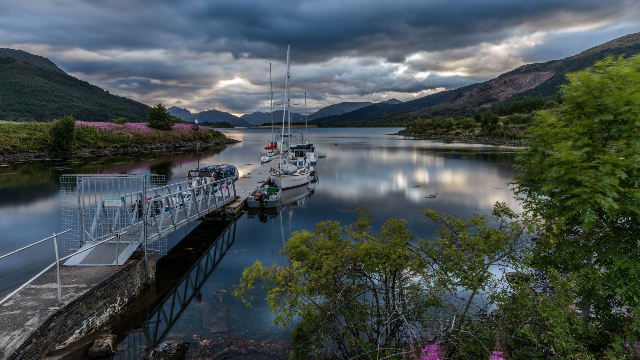 Loch Leven, Ballachulish, Highlands, United Kingdom
