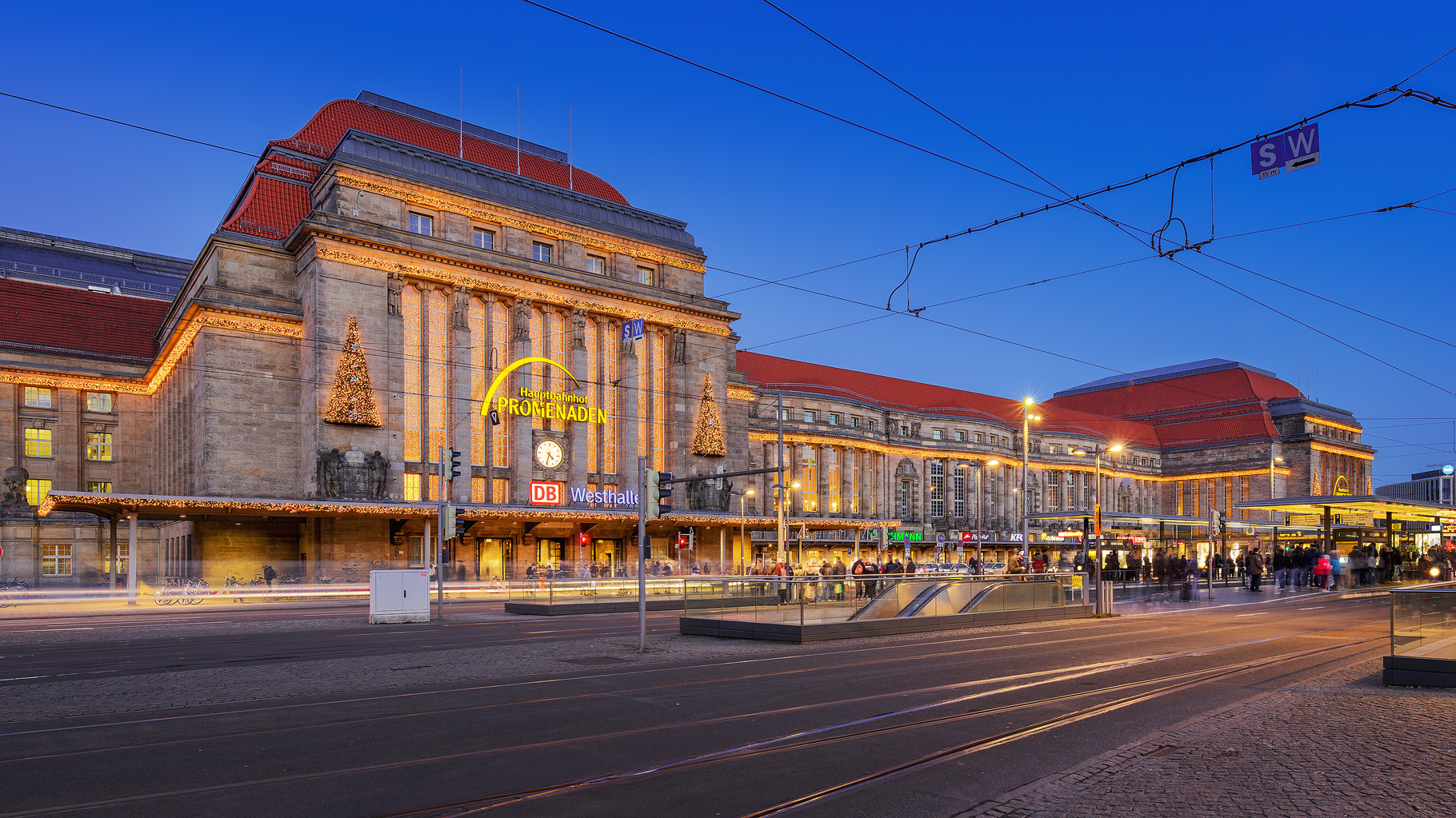 Main Tram Station, Germany