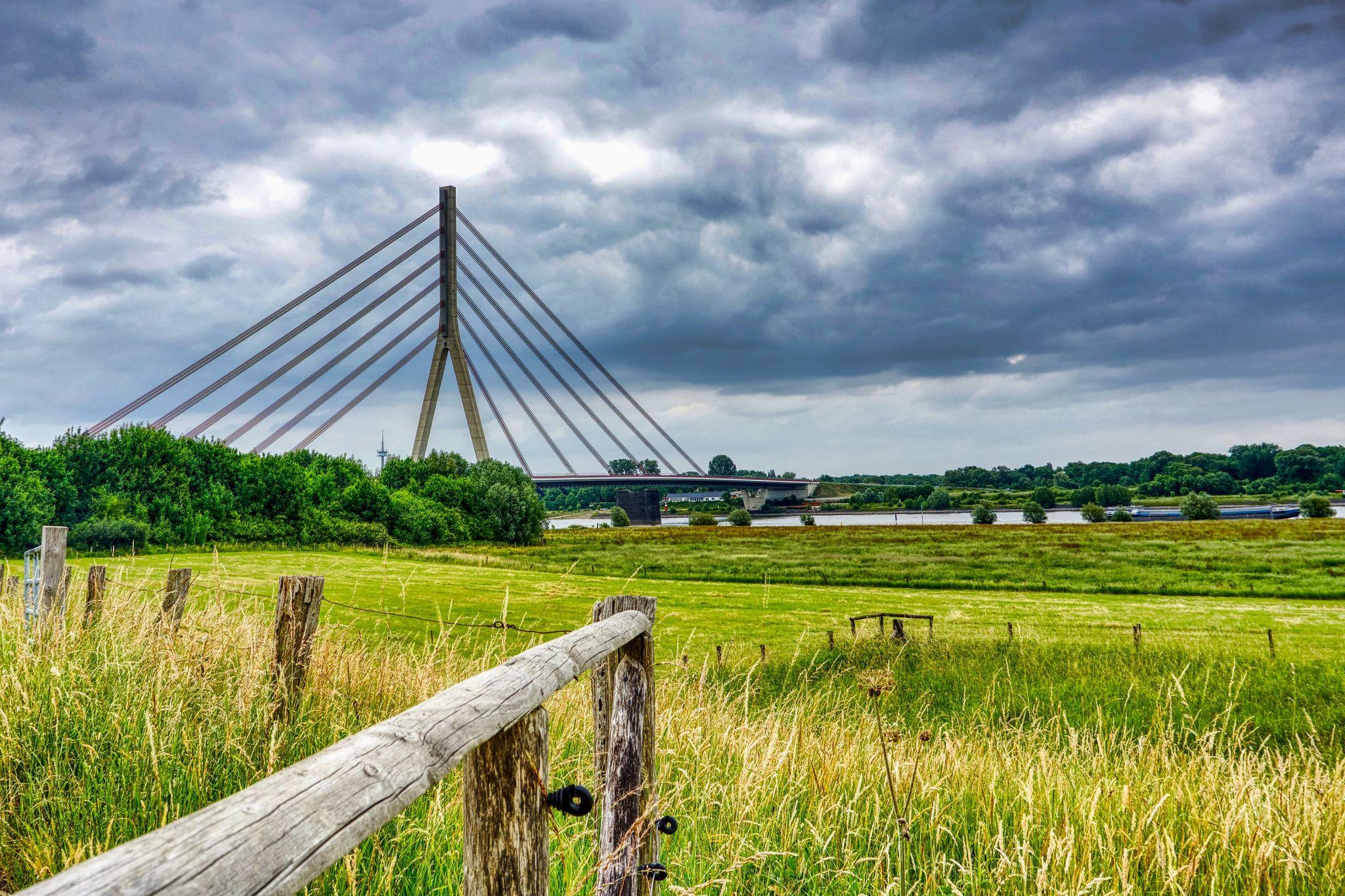 Niederrheinbrücke Wesel, Germany