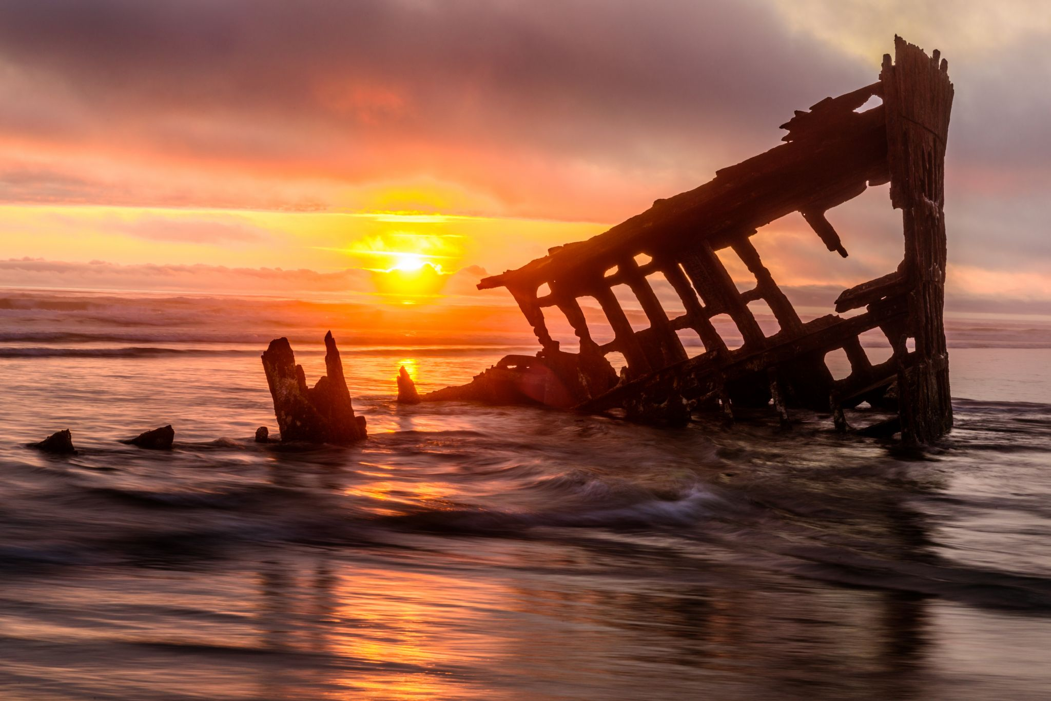Peter Iredale Wreck, USA