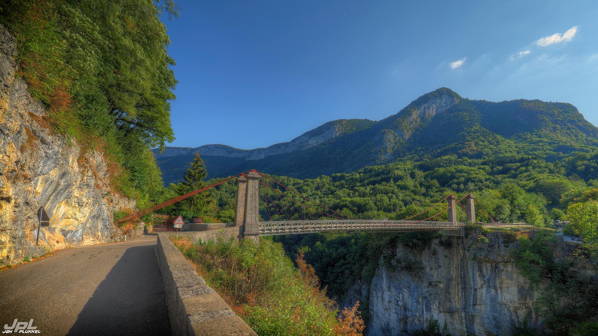 Pont de L'abime., France
