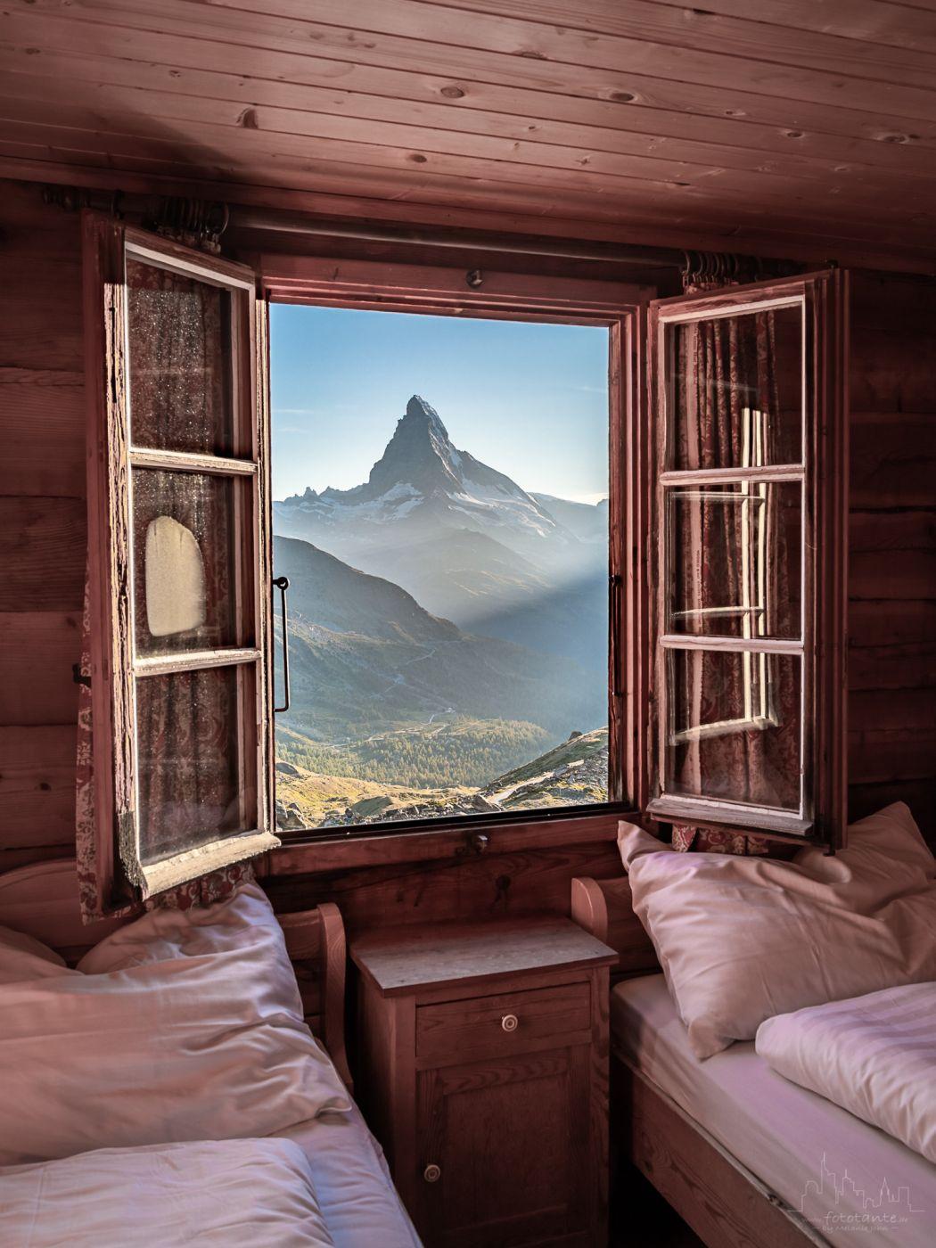 Room with a view - Matterhorn, Switzerland