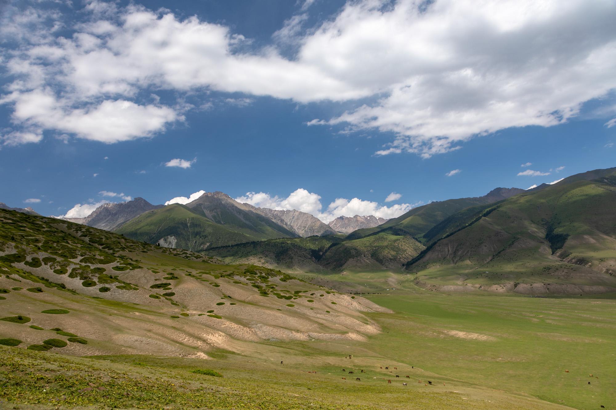 Semyenovka Tal in Kirgistan, Kyrgyz Republic
