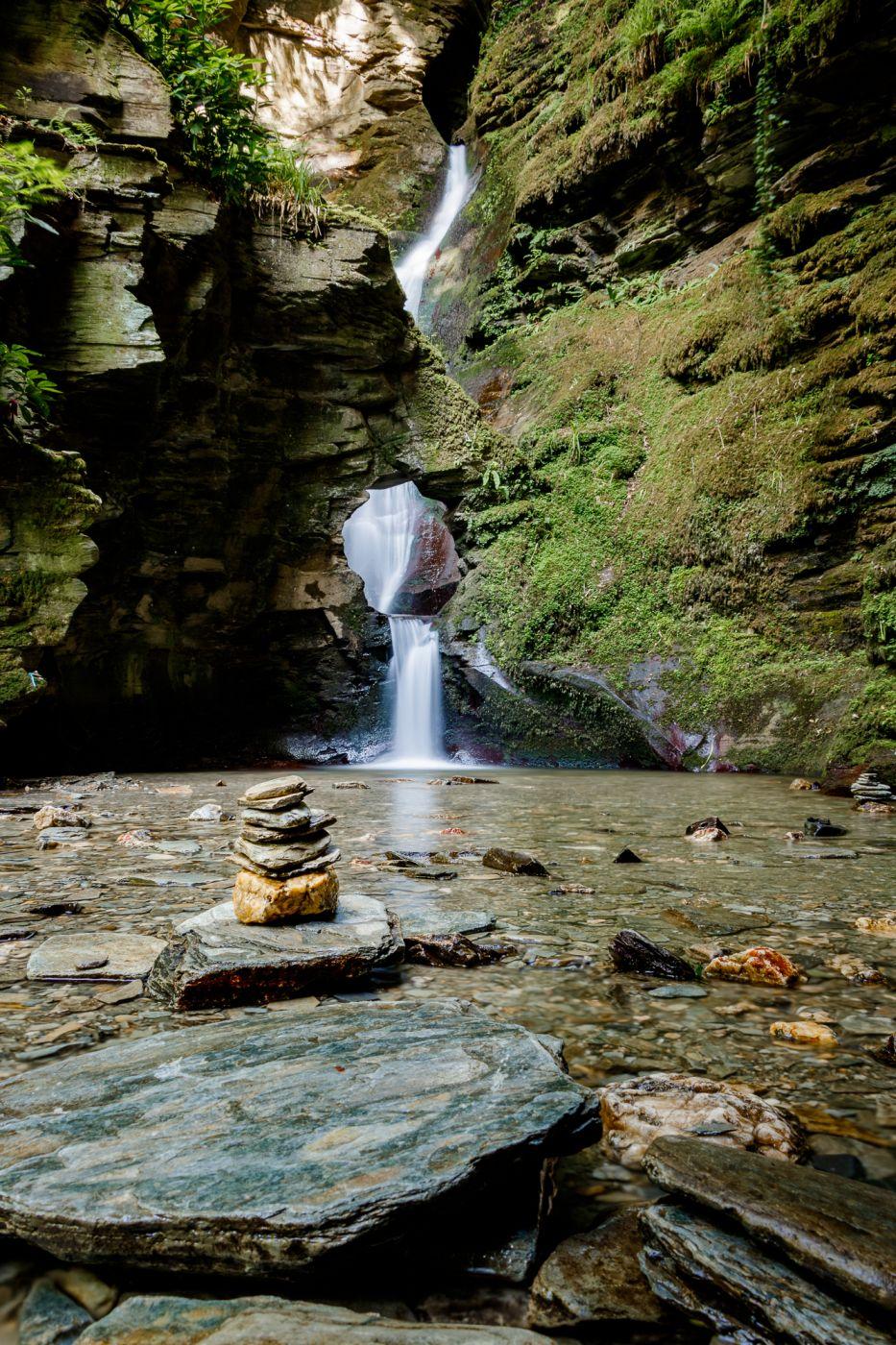 St. Nectan´s Glen Waterfall, United Kingdom