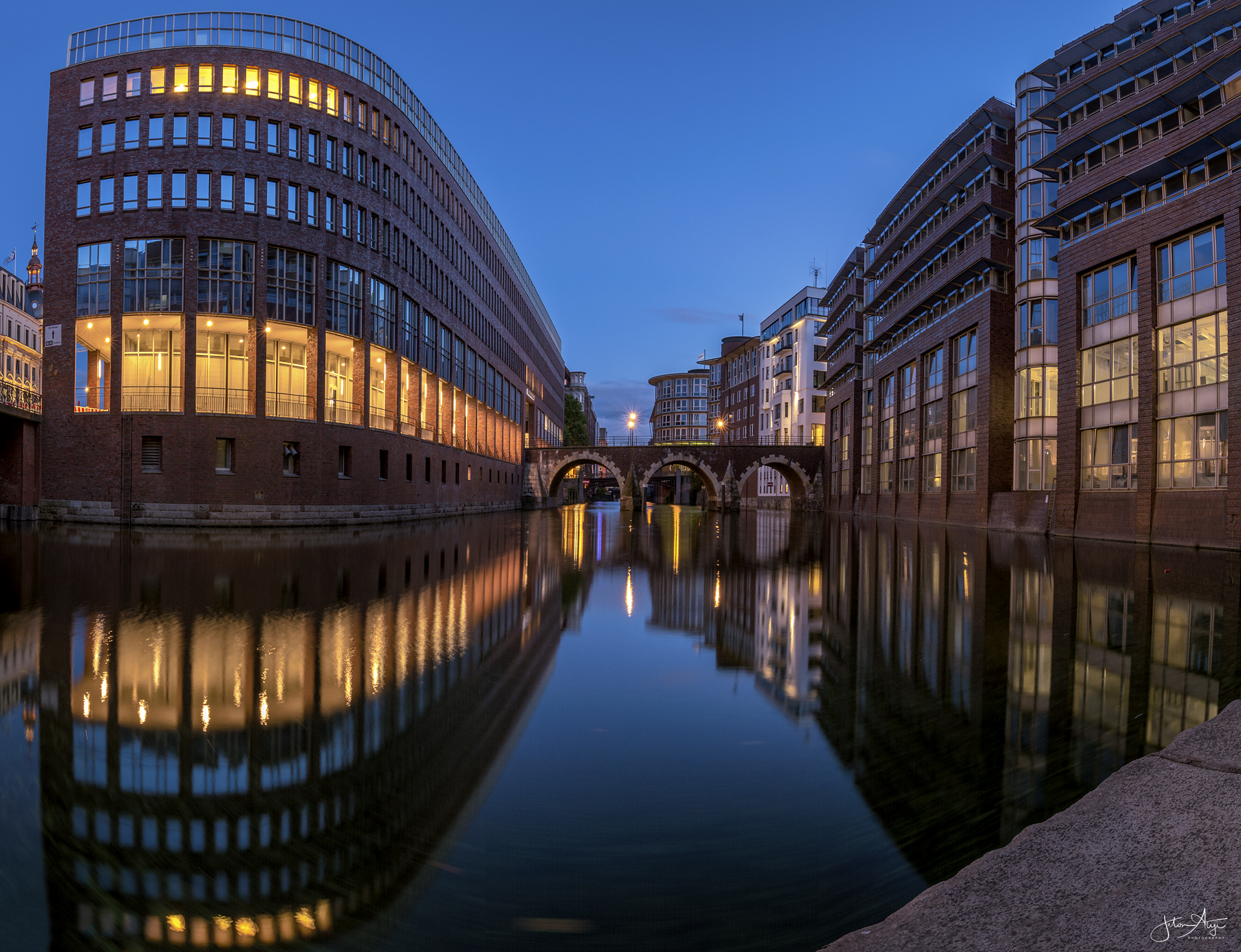 Stadthausbrücke, Hamburg, Germany