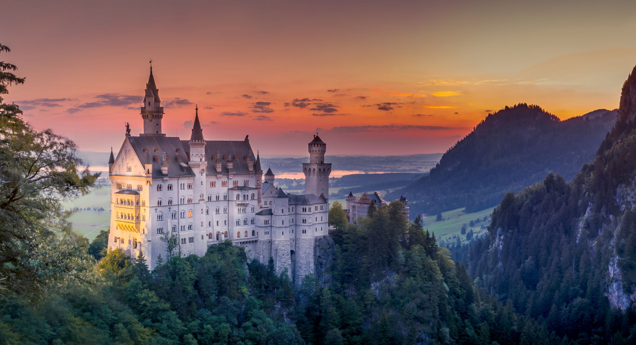 The hidden Neuschwanstein spot, Germany