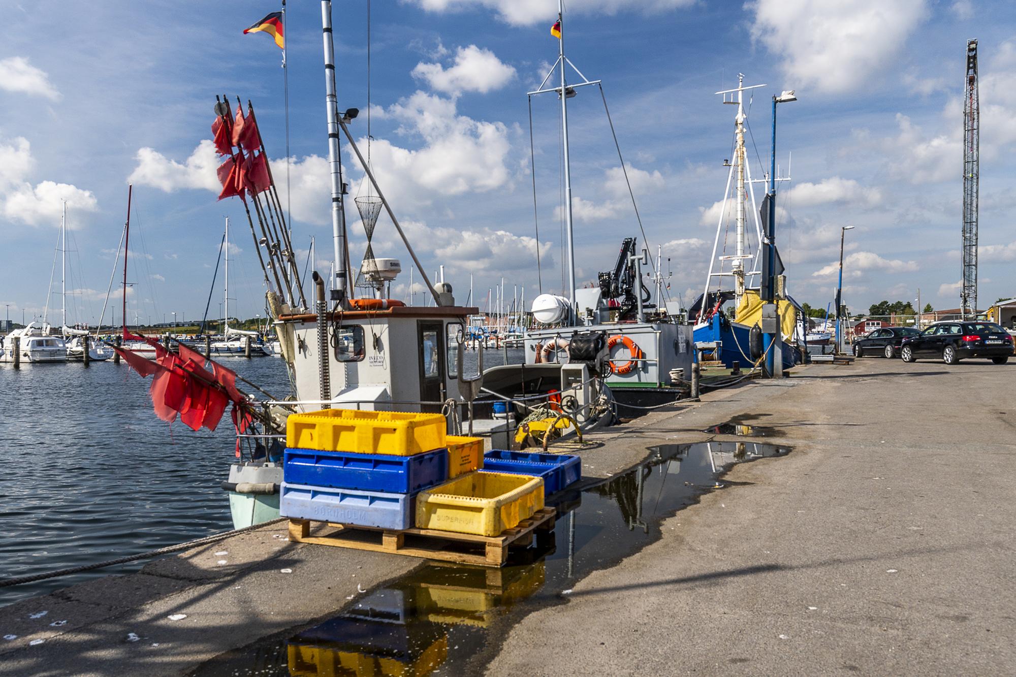 Travemünde Fischereihafen, Germany