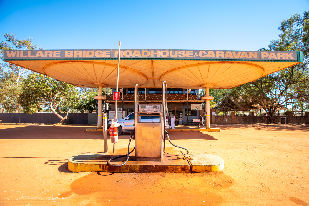 Willare Bridge & Roadhouse Near Derby Western Australia, Australia