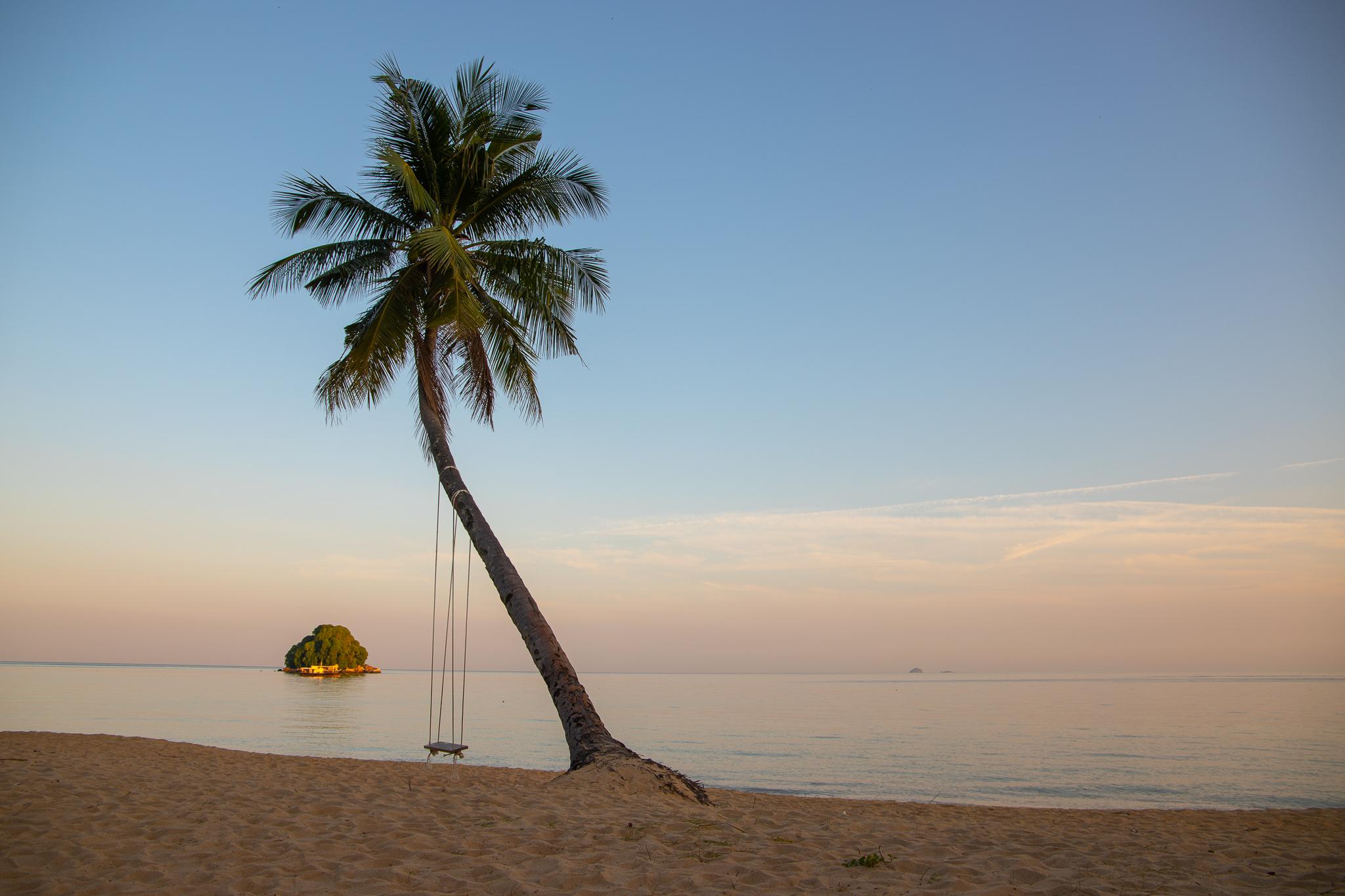 Beach at Berjaya Resort Tioman Island, Malaysia, Malaysia
