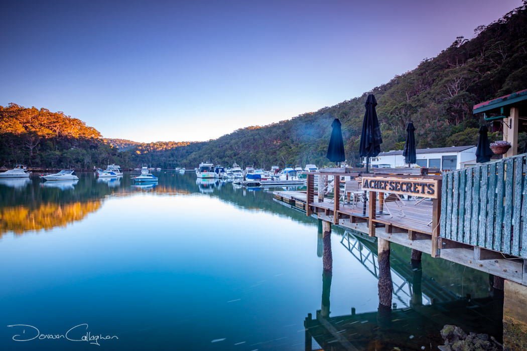 Berowra Waters sunrise, Australia