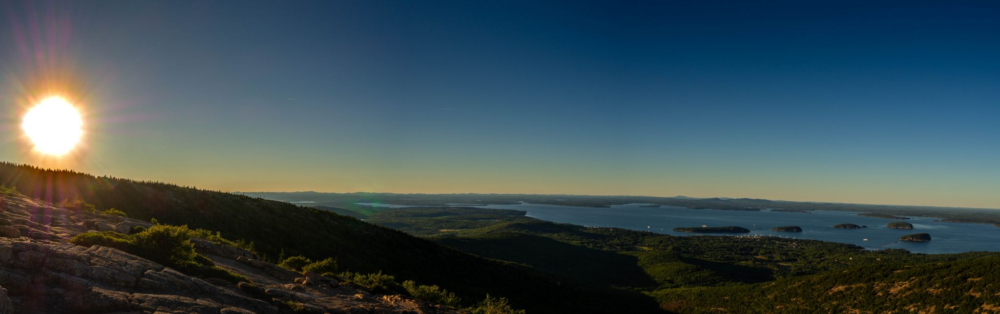 Cadillac mountain (Acadia national park), USA