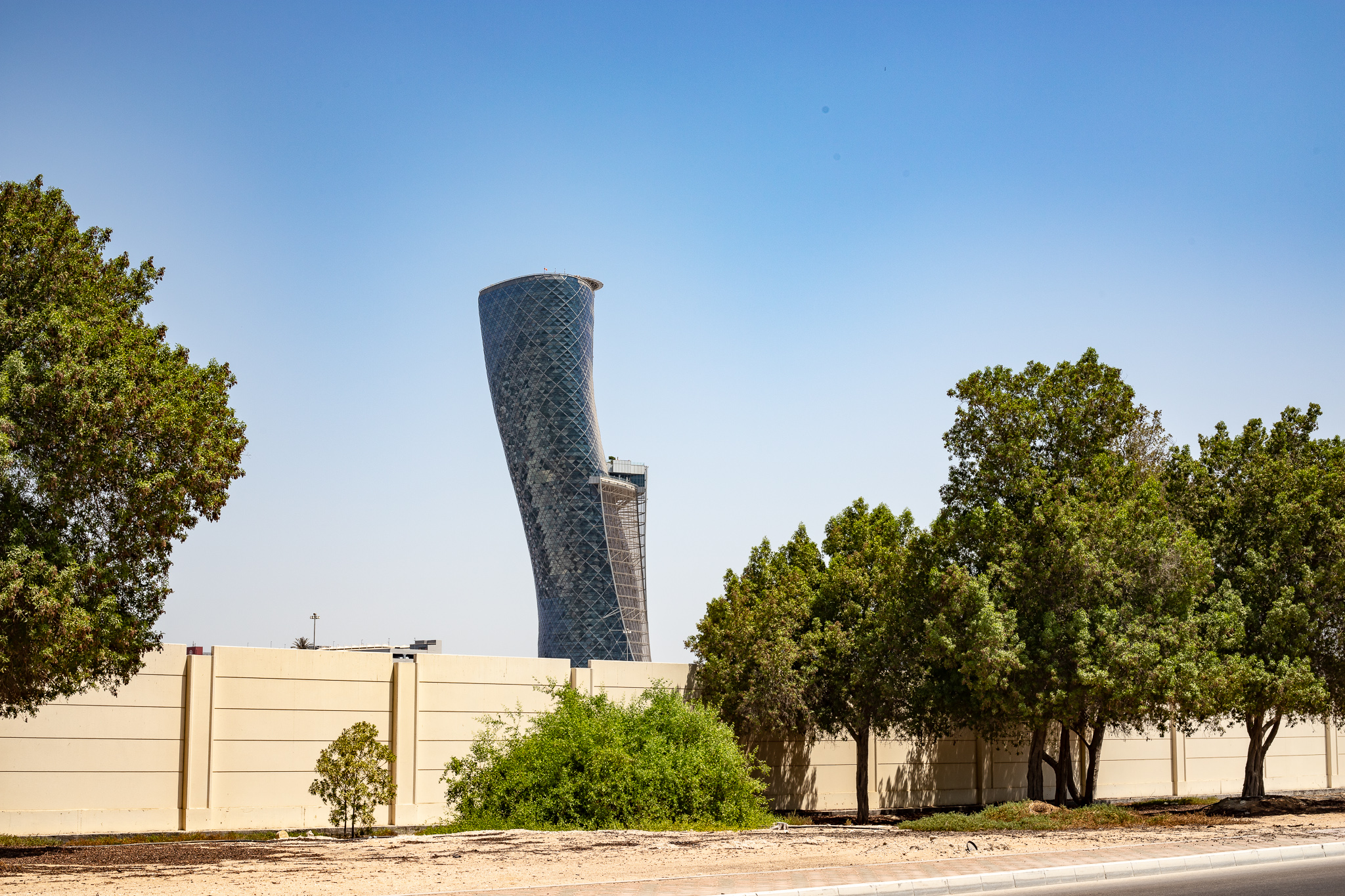 Capital Gate Tower, Abu Dhabi, United Arab Emirates