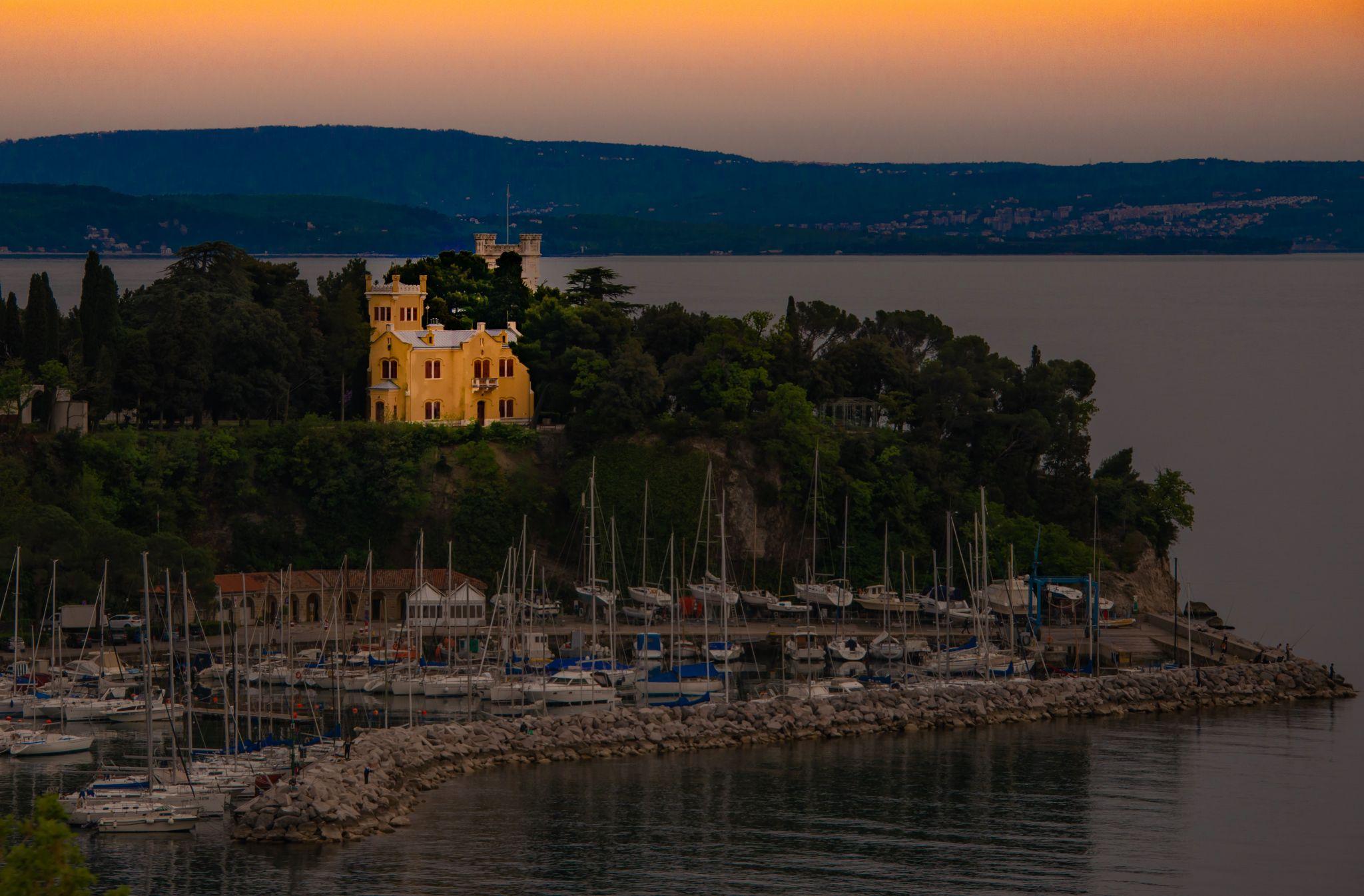 Castello di Miramare, Trieste, Italy