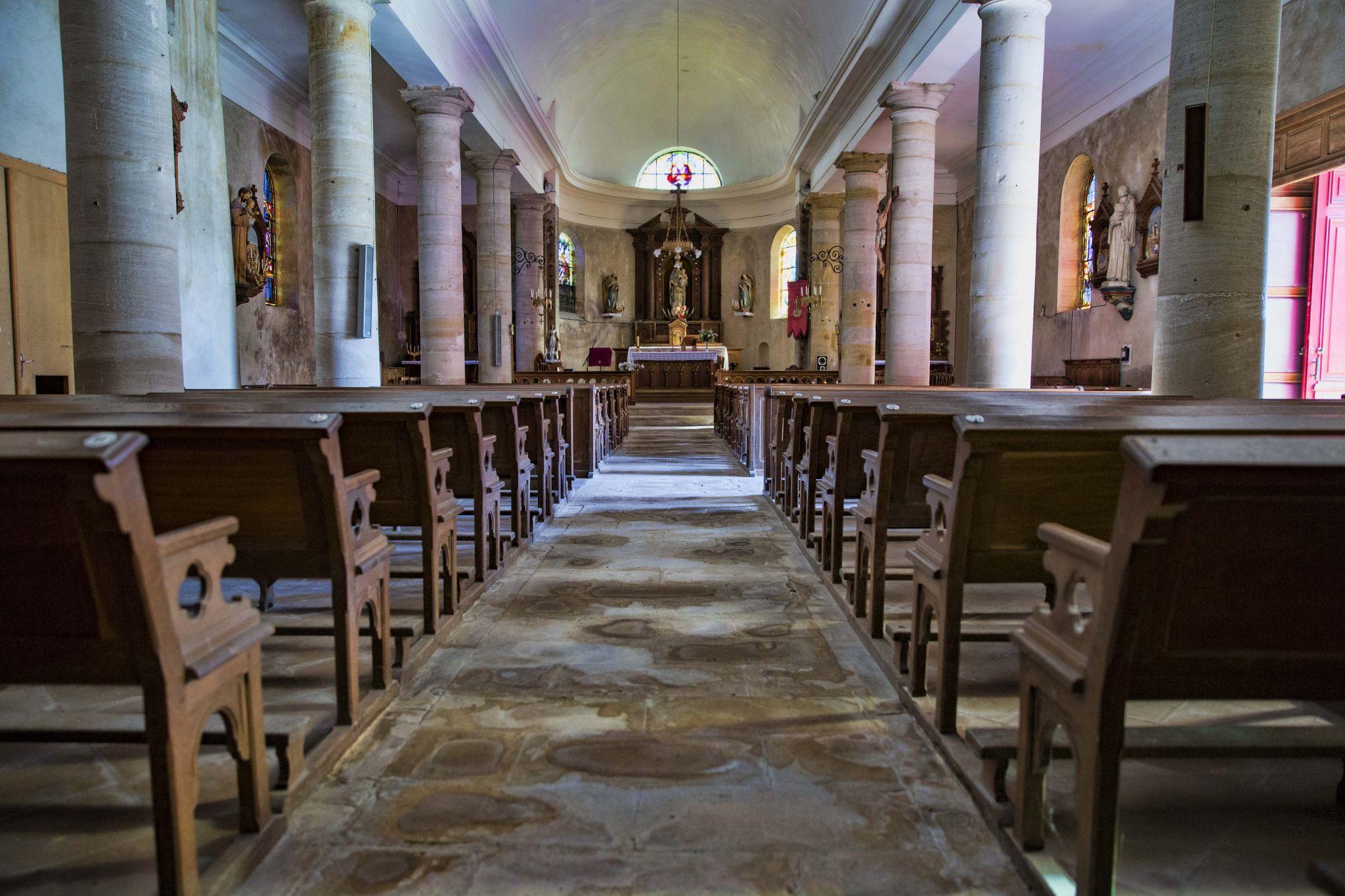 Church in Consenvoye, France