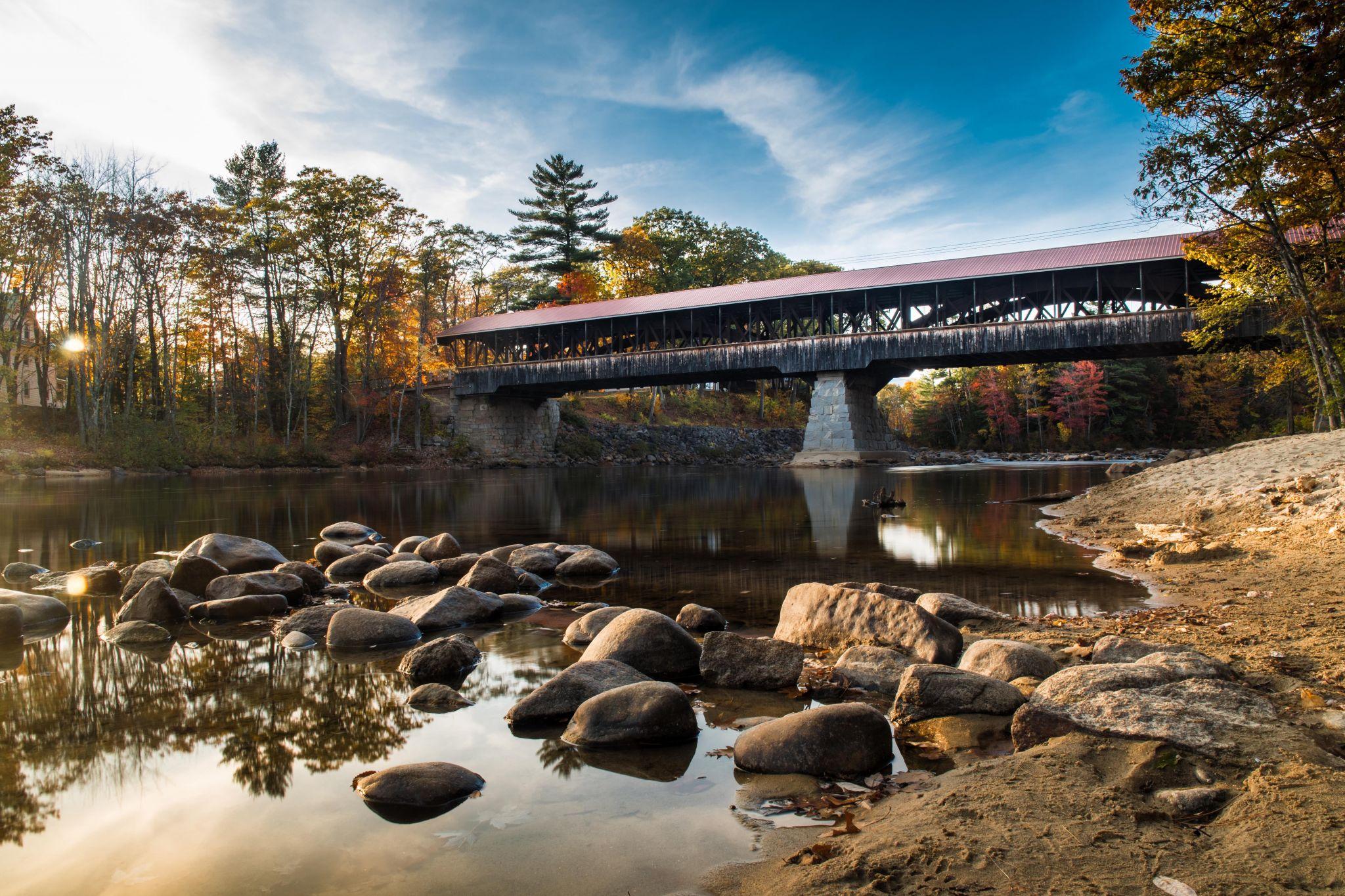 Conway Covered Bridge, USA