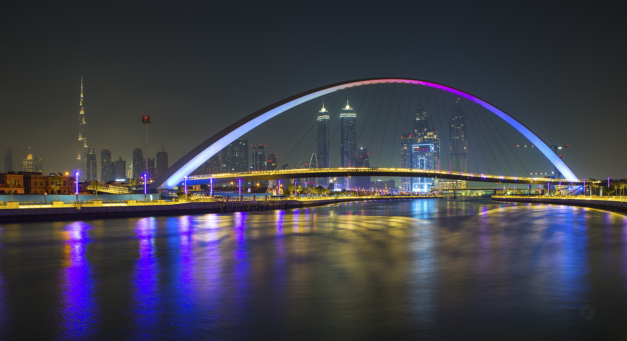 Dubai Water Canal, United Arab Emirates