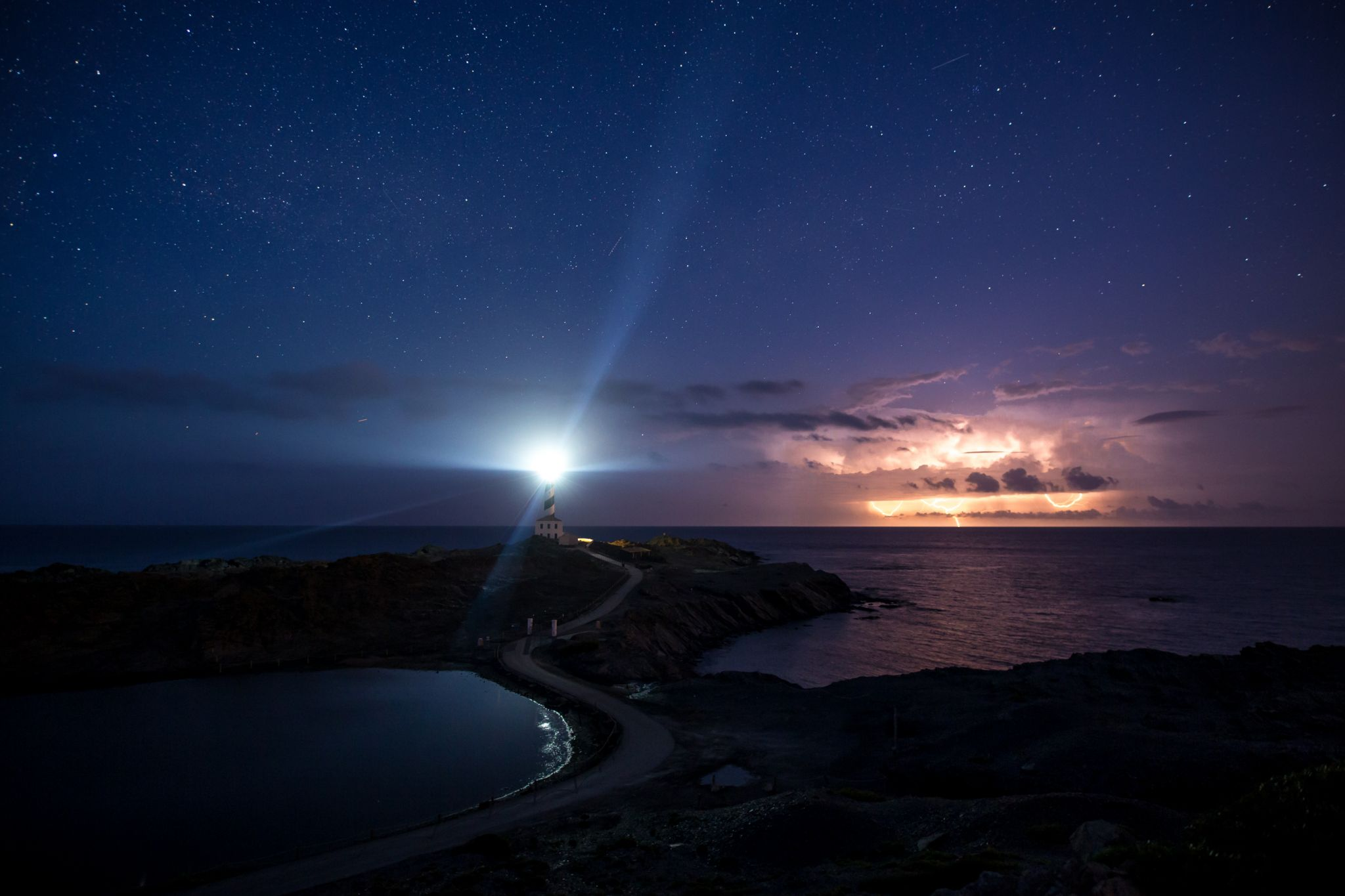 Faro de Favaritx Lighthouse, Spain