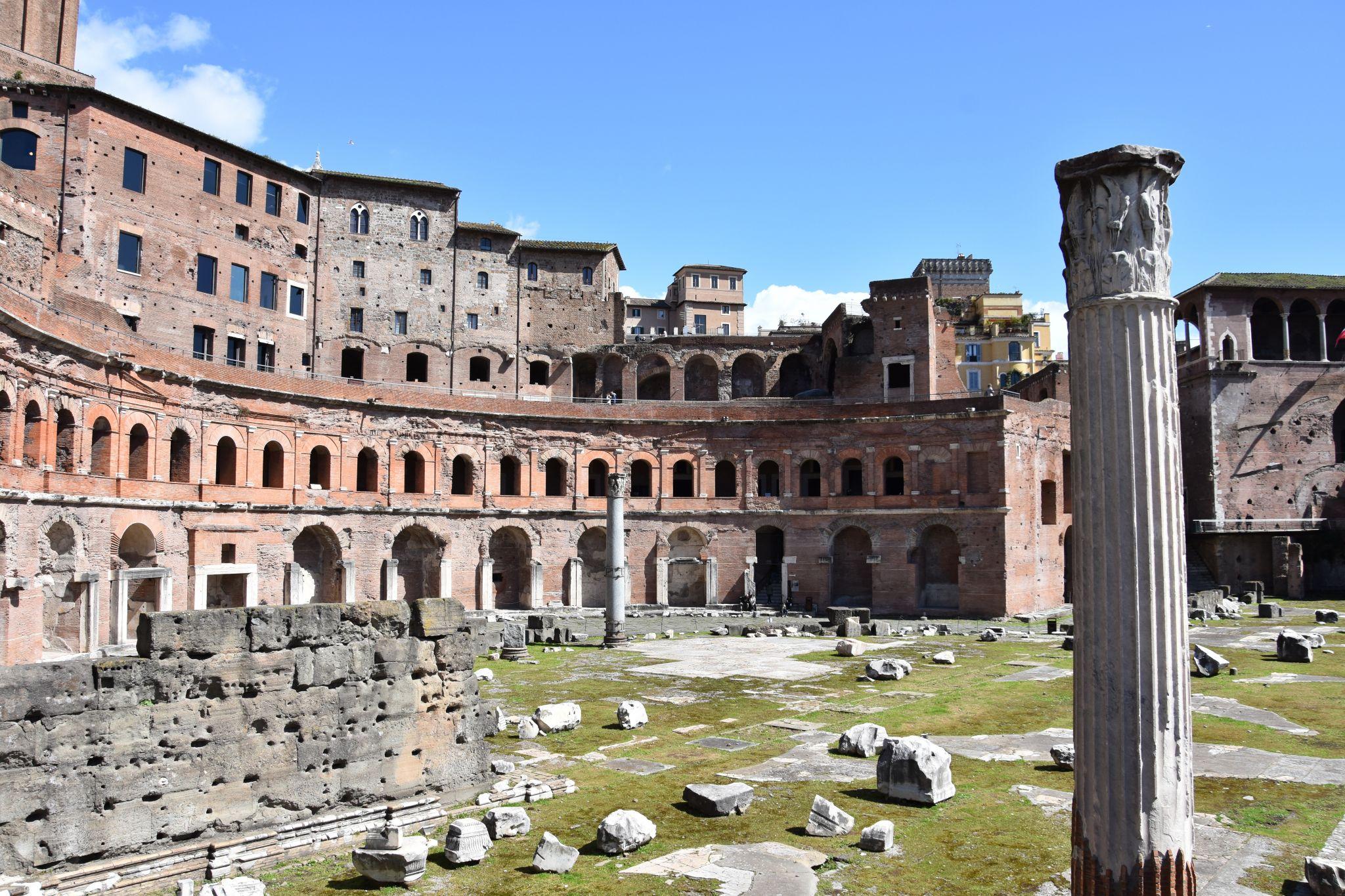 Foro Traiano, Italy