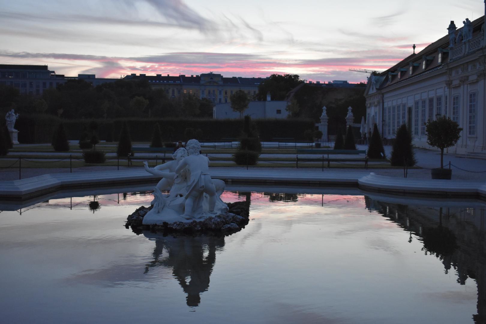 Garden of Schloss Belvedere, Austria