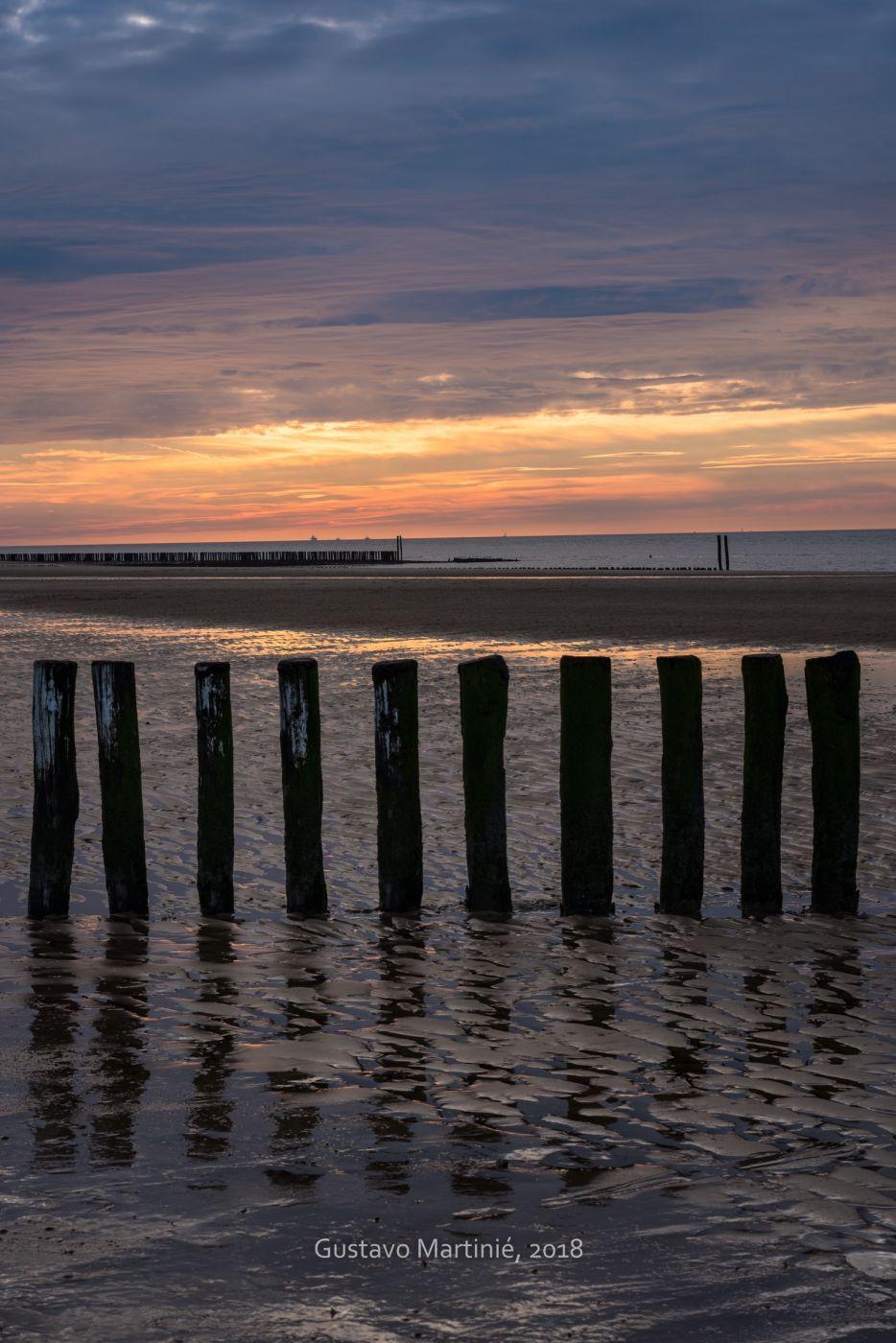 Groede beach, Netherlands