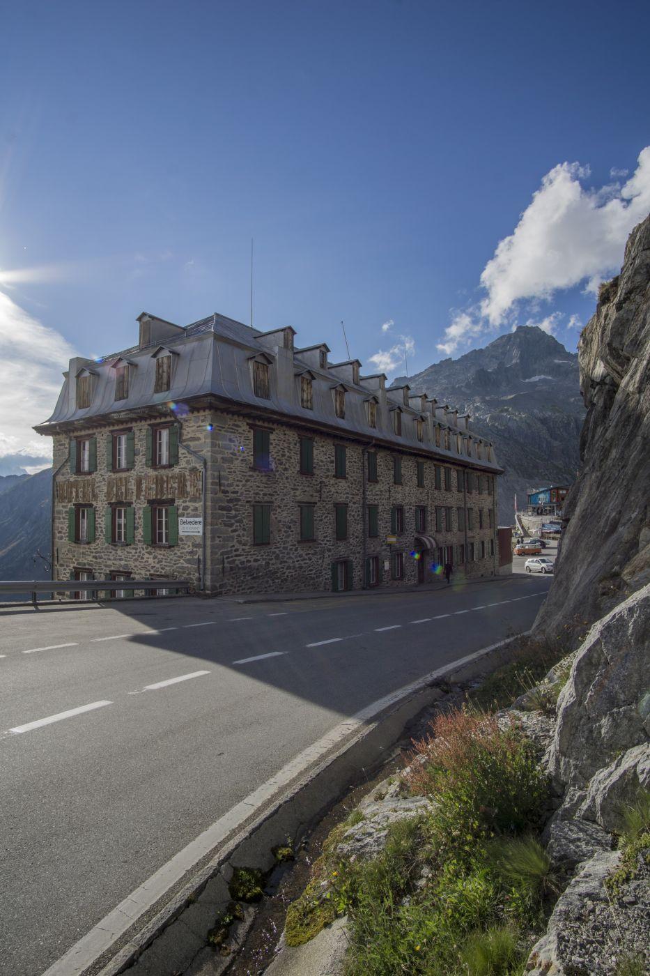Hotel Belvedere, Rhonegletscher, Switzerland