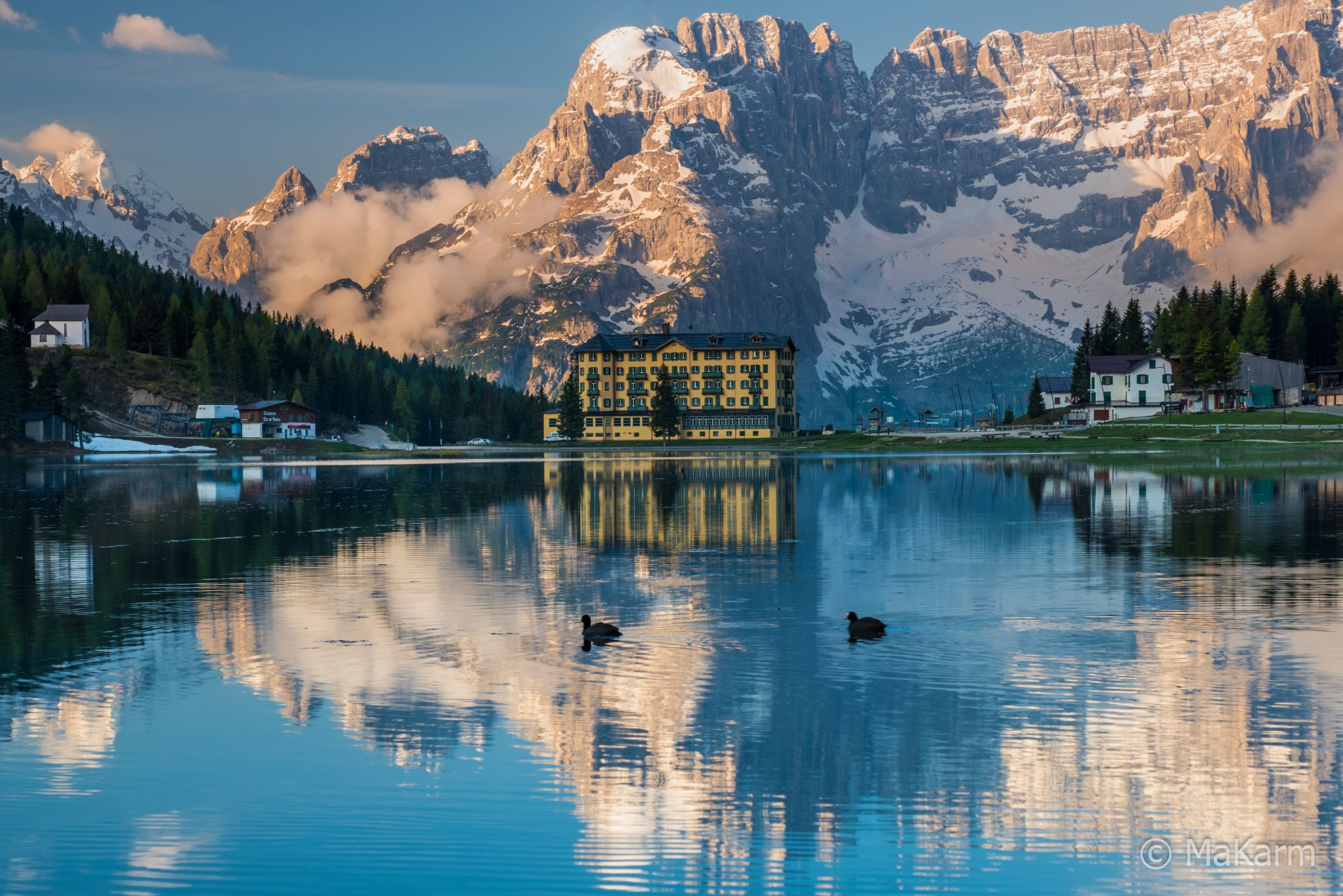 Lake Misurina lake, Italy