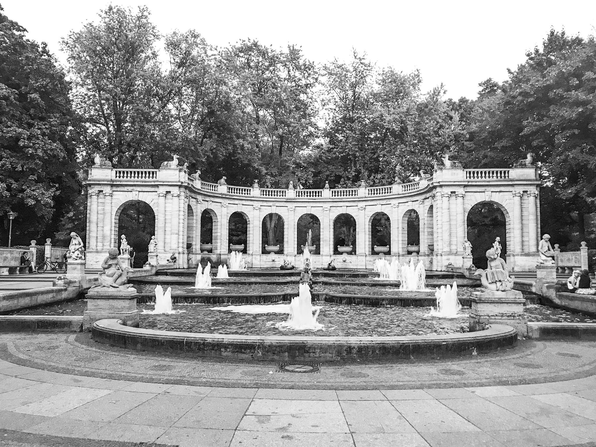 Märchenbrunnen im Volkspark Friedrichshain, Germany