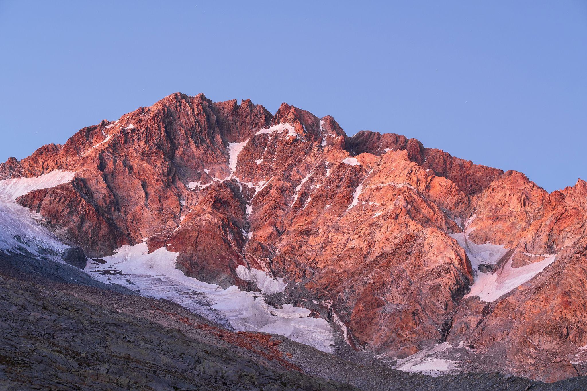 Monte Disgrazia 3678m, Italy