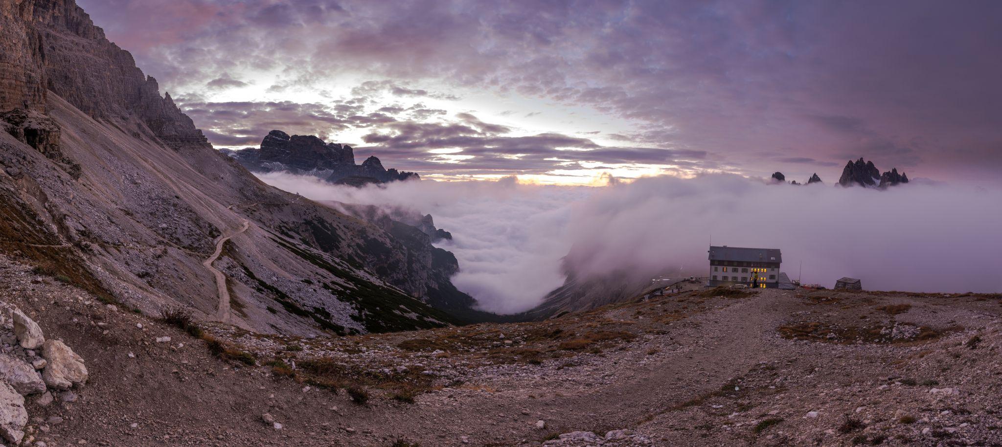 Morning near Tre Cime, Italy