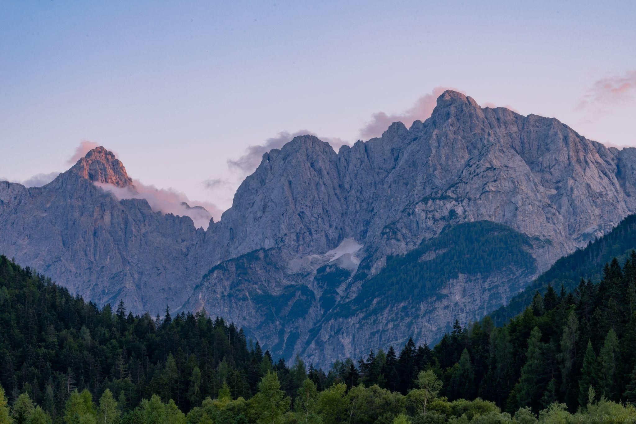 Mountain View next to Kranjska Gora, Slovenia