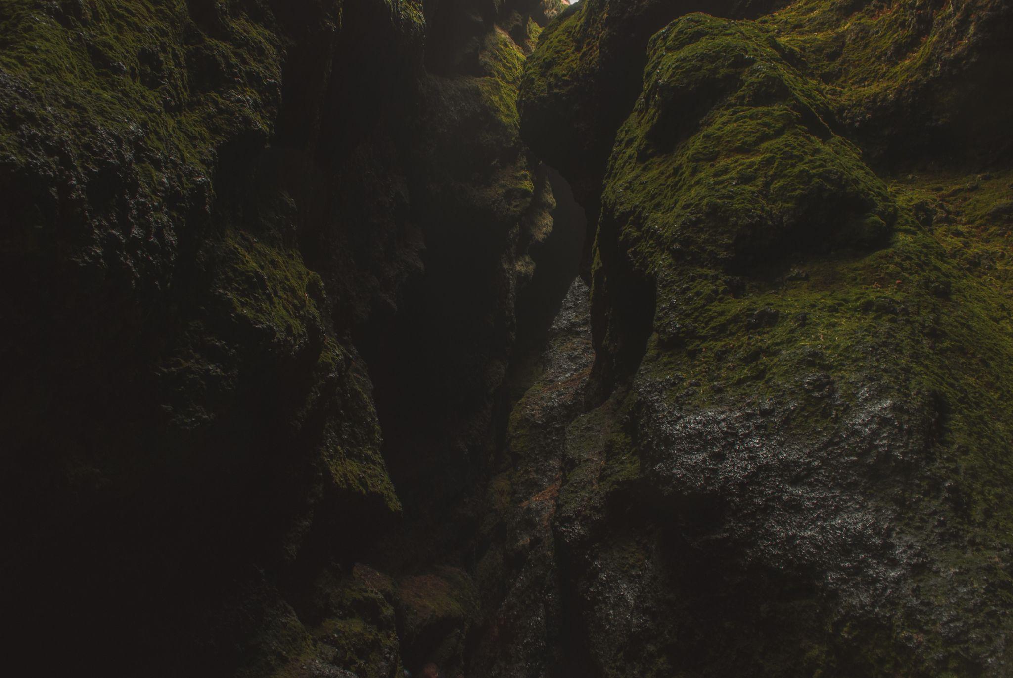 RAUĐFELDSGJÁ Canyon, Snæfellsnes Peninsula, Iceland., Iceland