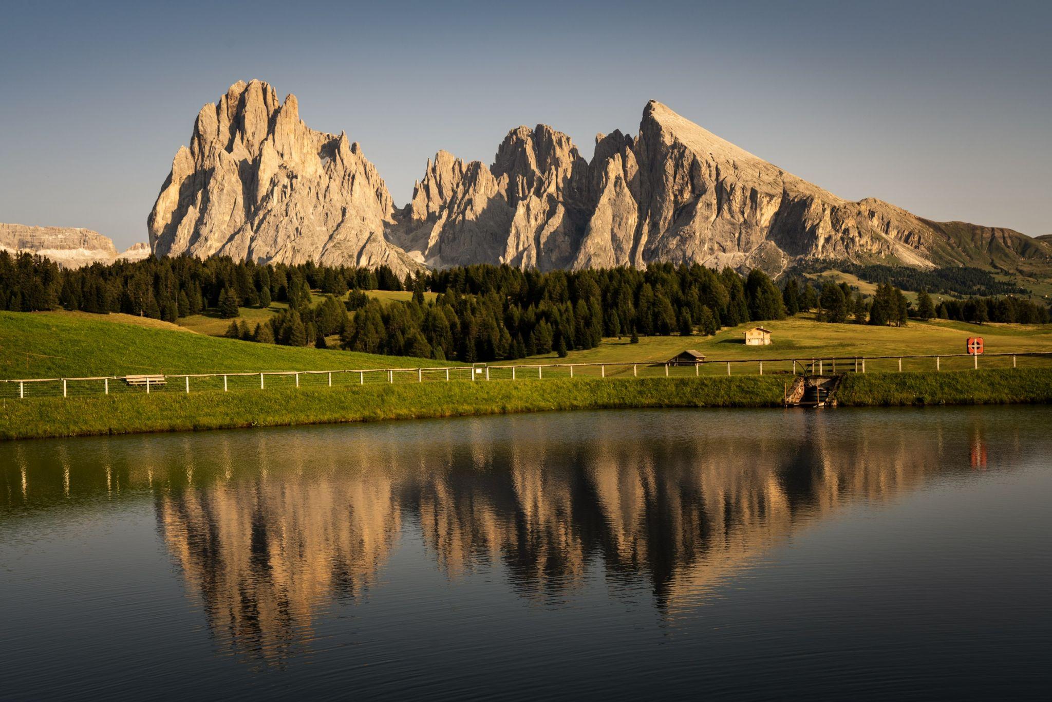 Alpe di Siusi / Seiser Alm next to Sporthotel Sonne, Italy