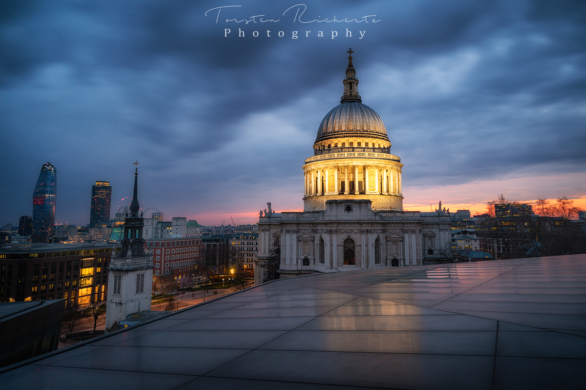 St. Pauls Cathedral from One New Change, United Kingdom