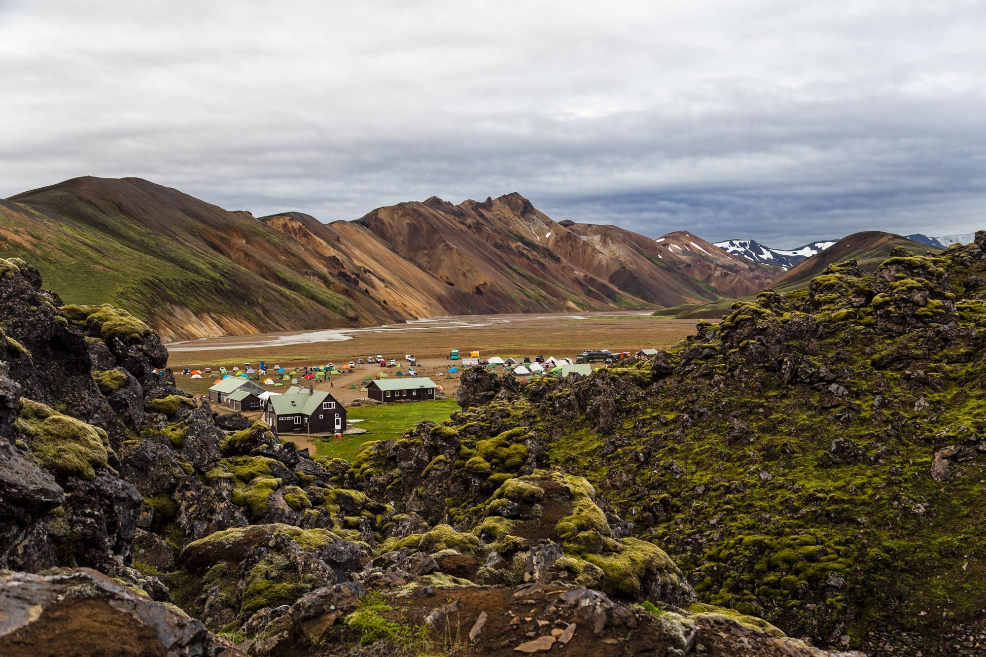 Starting Laugavegur, Iceland