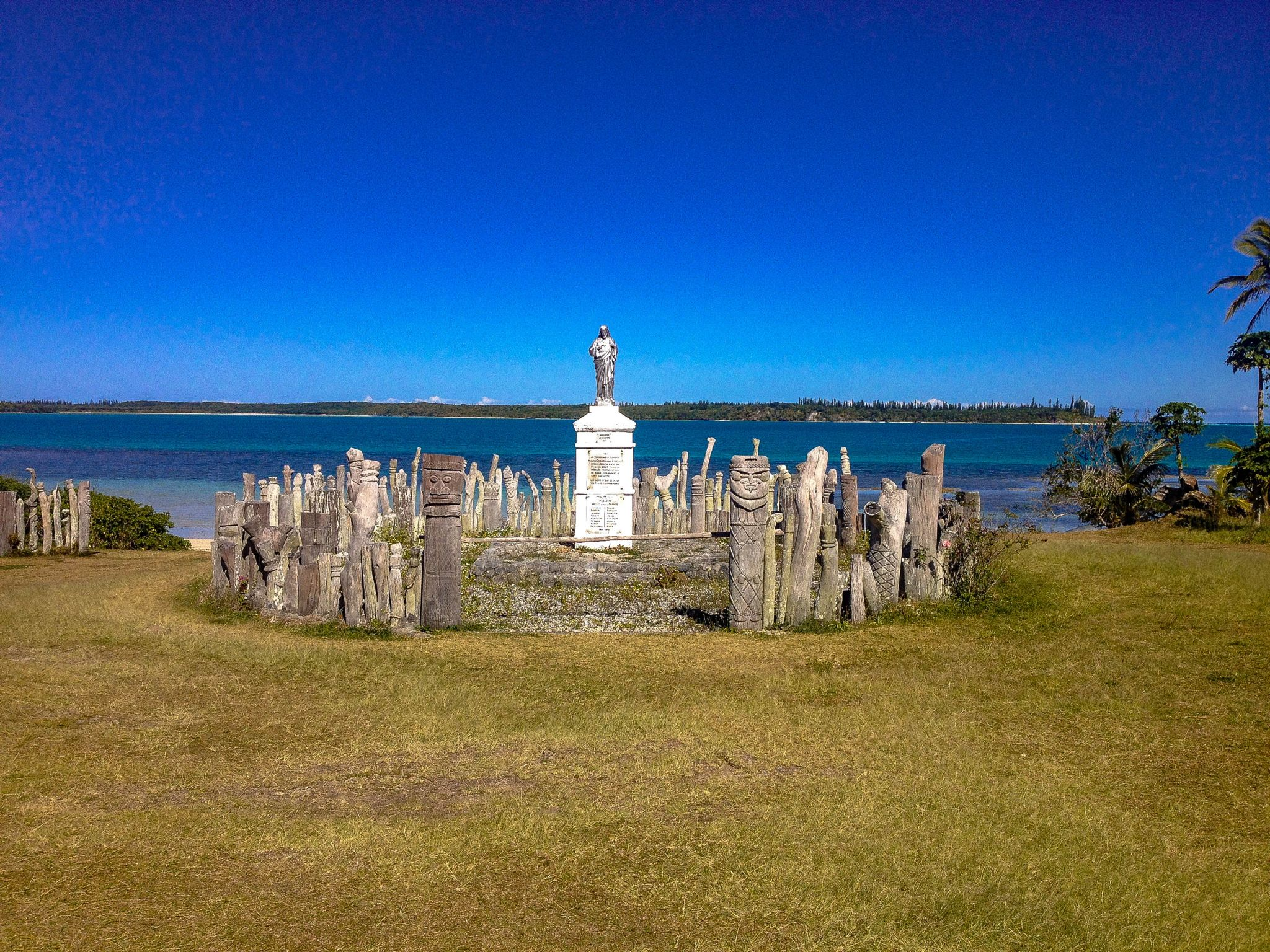 Statue of St. Maurice, New Caledonia