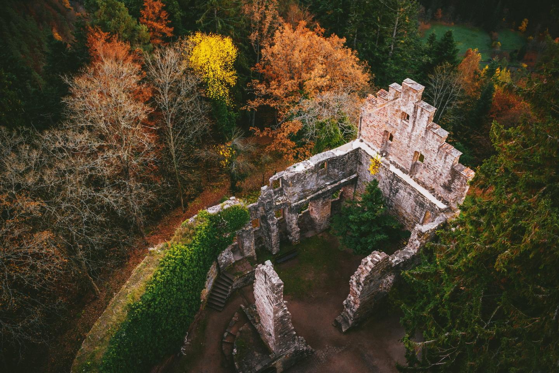 Zavelstein ruins, Germany